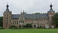 Arenberg Castle and other historical university buildings in Leuven