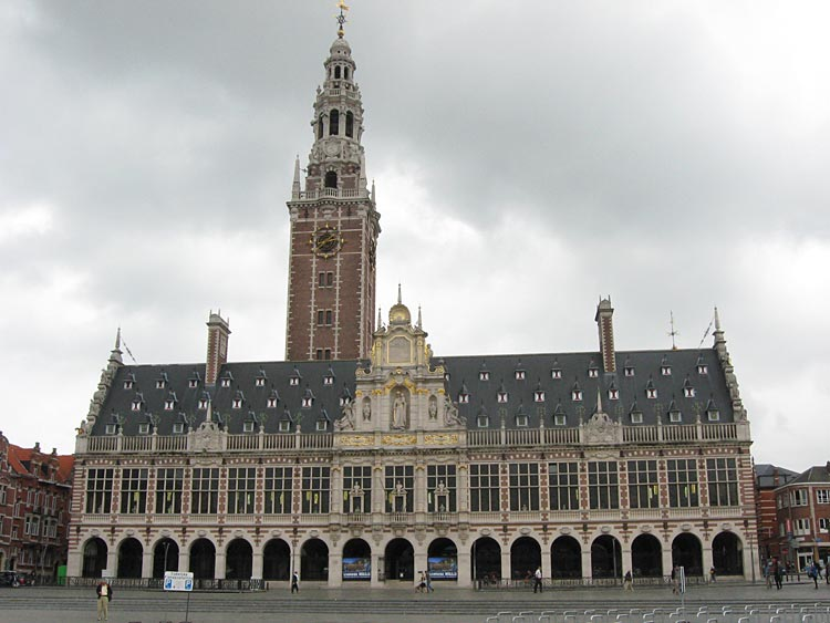 The Central Library of the Catholic University of Leuven