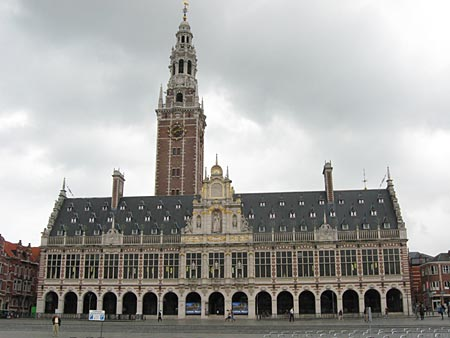 Central Library of the KUL (Catholic University of Leuven)