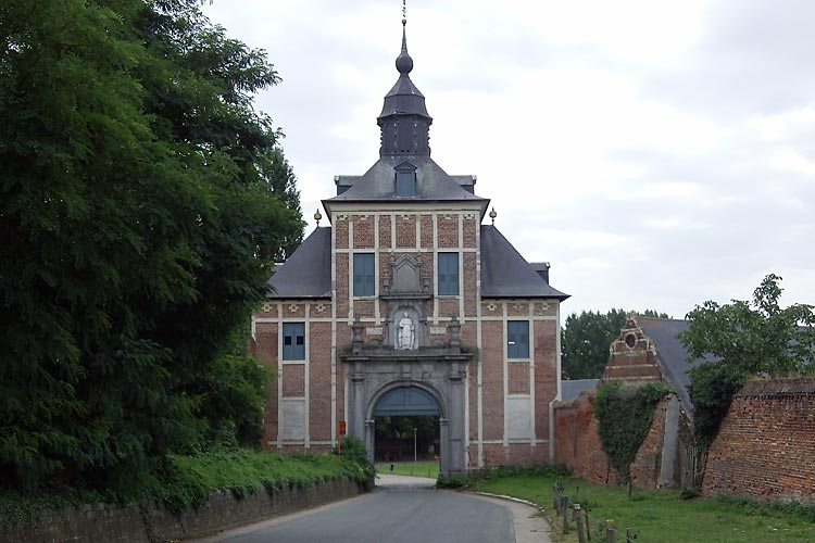 Gate at Park Abbey, Heverlee, Leuven