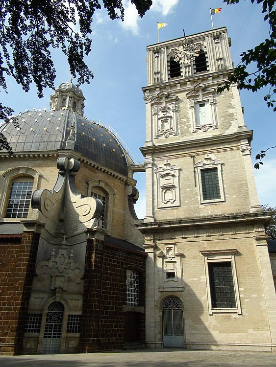 There is a very impressive tower located behind the Basilica. You can not see it from the front entrance to the church.